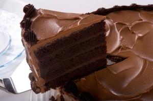 шоколадный торт, торт пища дьявола