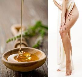 медовый массаж, мед, борьба с целлюлитом