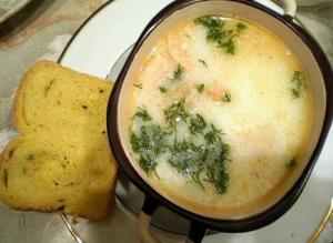 суп из семги по фински