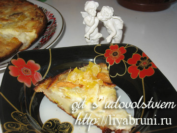 рецепт фруктового пирога