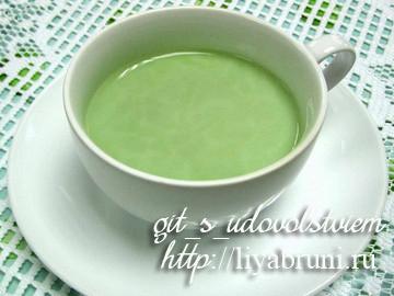 польза зеленого чая с молоком