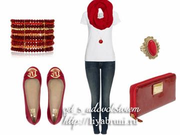 IMG_6045сочетание красного цвета в одежде
