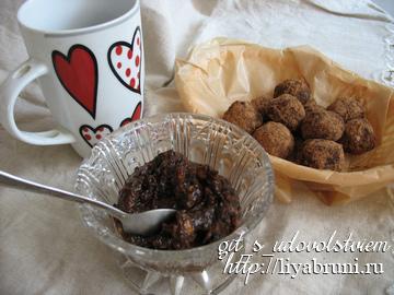 IMGдесерт из чернослива и конфеты из чернослива без сахара