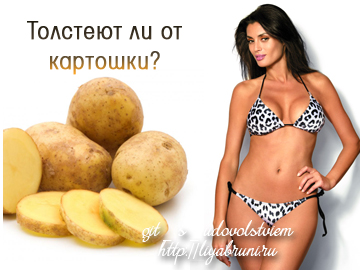 толстеют ли от картошки