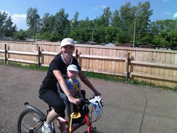 велосипедные прогулки - отличная нагрузка