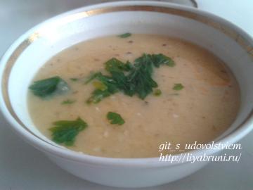 гороховый суп пюре рецепт