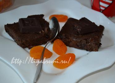 Брауни диетический рецепт