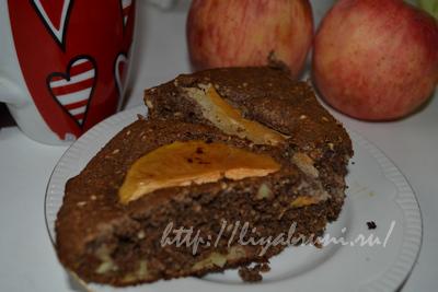 рецепт с фото: диетический яблочный пирог