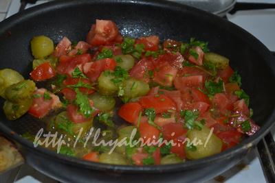овощи в сметанном соусе