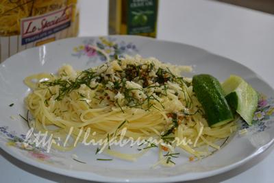 вкусные спагетти с сыром
