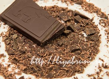 Чтобы жир пошел на спад, нужно кушать шоколад!