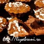 Кексы с кусочками шоколада