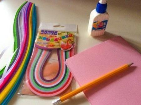 Открытка своими руками из цветной бумаги